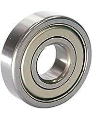EZO - Roulement à billes à gorge profonde rangée simple en acier inoxydable 6304 ZZ (20x52x15)