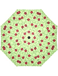 Mariquitas Auto paraguas poliéster Pongee paraguas