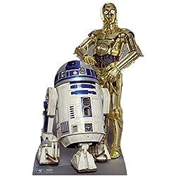 Star cutouts - Stsc480 - Figurine Géante - R2-D2 Et C3P-O - Star Wars - 166Cm