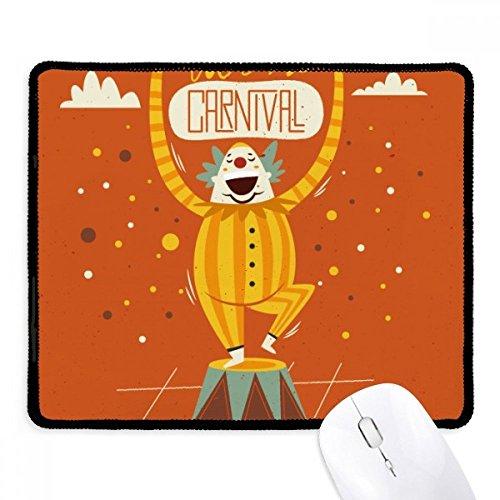 Clown Maske Happy Karneval von Venedig rutschfeste Mauspad -