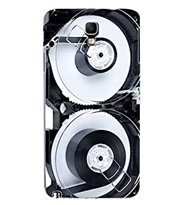 ColourCraft Retro Video Cassette Design Back Case Cover for SAMSUNG GALAXY NOTE 3 NEO N7505