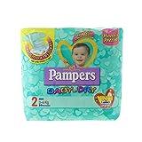 Pampers Baby Dry Pannolini Mini, Taglia 2 (3-6 Kg), 24 Pezzi