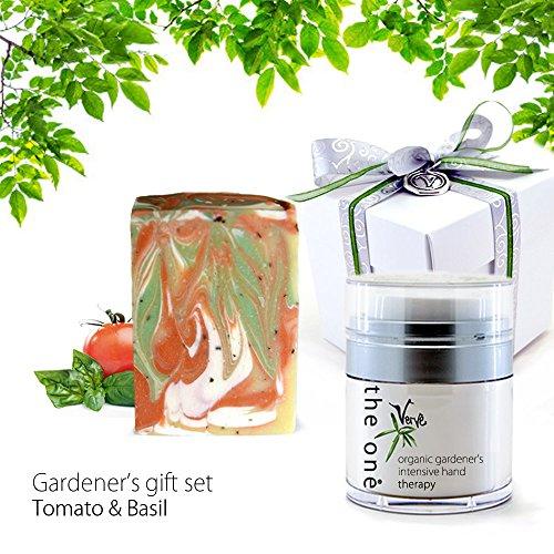 Coffret cadeau savon Soin des Mains Bio et naturel de jardinier