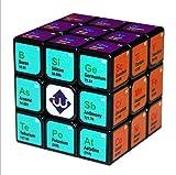 My-dym Cubo de Rubik 3 x 3 Juguetes educativos para niños