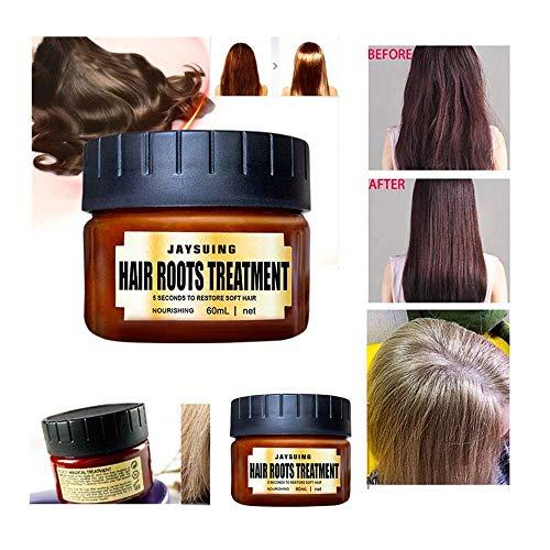 60 ml - Haarpflege Spülung - Entgiftende Haarmaske Advanced Molecular Hair Roots Treatment Recovery Elasticity Hair - Haar Glättung Spülung Haarspülung Conditioner (Mehrfarbig 2) -