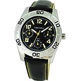 TIME FORCE Reloj De Pulsera Tf-4119B03 Cadete Acero Multifunicon 50M Negro