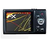atFoliX Folie für Canon Digital IXUS 170/172 Displayschutzfolie - 3 x FX-Antireflex-HD hochauflösende entspiegelnde Schutzfolie