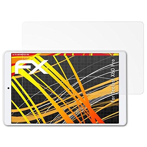 atFoliX Pellicola Proteggi per Teclast X80 PRO Protezione Pellicola dello Schermo, Rivestimento antiriflesso HD FX Protettore Schermo (2X)