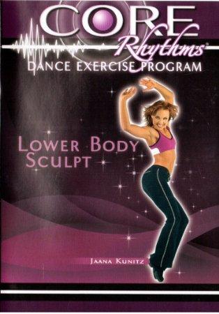 Preisvergleich Produktbild Core Rhythms Lower Body Sculpt with Jaana Kunitz DVD (Dance Exercise Program)