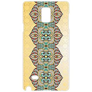 a AND b Designer Printed Mobile Back Cover / Back Case For Samsung Galaxy Note 4 (SG_N4_3D_1959)