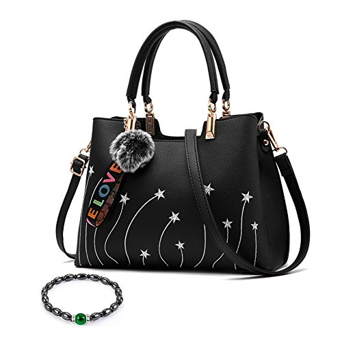 215600030a Samxu donne Crossbody borse con pompon ciondolo, design elegante ...