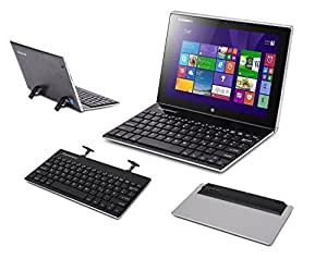 supremery dell venue 11 pro tastatur alu bluetooth amazon. Black Bedroom Furniture Sets. Home Design Ideas
