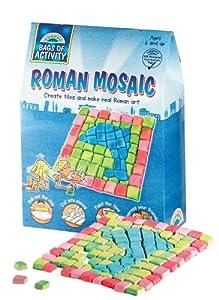 Galt Toys-Mosaico Romano de Aprendizaje Vida y Actividad Bolsa