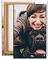 wandmotiv24 Foto auf Leinwand Fotodruck Hochformat 20x30cm, Fotoleinwand Personalisiertes Fotogeschenk Wandbild, Brillante Druckqualität