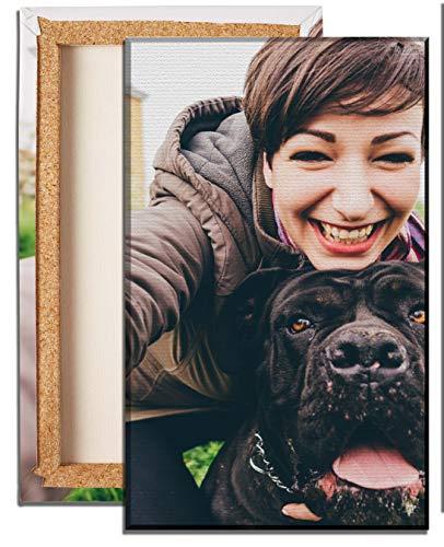 wandmotiv24 Foto auf Leinwand Fotodruck Hochformat 20x30cm, Fotoleinwand Personalisiertes Fotogeschenk Wandbild, Brillante Druckqualität M0000