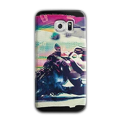 Ride Speed Race Biker Speed King 3D Samsung Galaxy S6 Case   Wellcoda