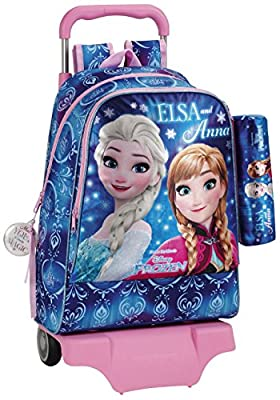 Frozen 611715160 Northen Lights Mochila escolar, 42 cm, Azul por Frozen