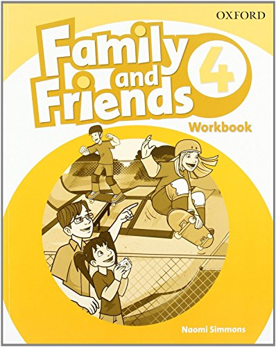 Family & Friends 4: Workbook (Family & Friends First Edition) - 9780194803229