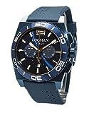 Orologio Locman stealth mare 0212BLBA-BLBSIB Al quarzo (batteria) Acciaio Quandrante Blu Cinturino Silicone