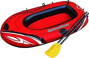Bestway Hydro-Force Raft Set Boot 188x98 cm mit Blasebalg und 2 Rudern