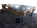 Table basse palette style industriel
