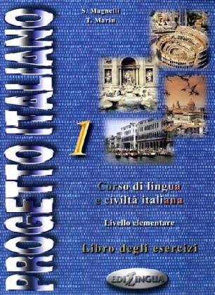 Progetto italiano 1 : Livello elementare - intermedio, libro degli esercizi