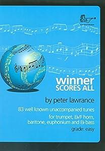 Winner Scores All for Treble Clef Brass (Part) Trumpet/Cornet/Euphonium