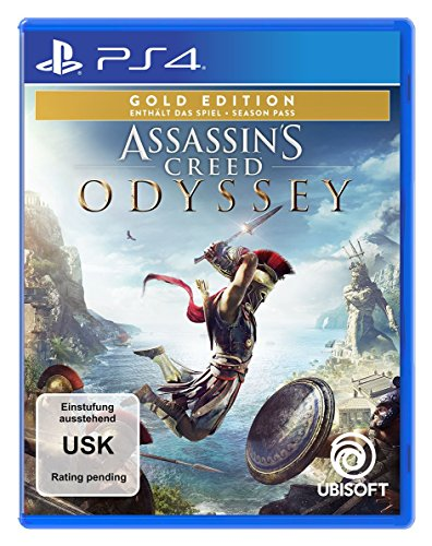 Assassin's Creed Odyssey - Gold Edition (inkl. Season Pass) - [PlayStation 4]
