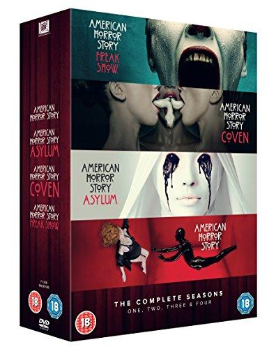 American Horror Story - Seasons 1-4 (5 Dvd) [Edizione: Regno Unito]