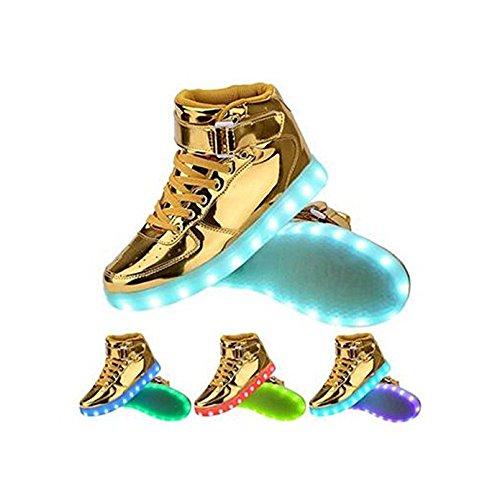 Gloria JR , Baskets pour garçon (Oro)Gold