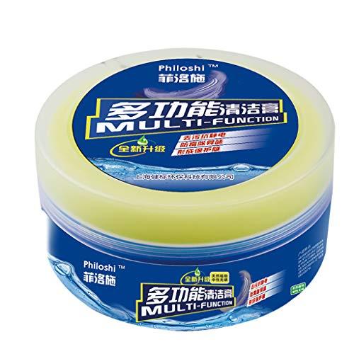 ACEBABY Limpieza Hogar Pasta de Limpieza Multipropósito, Limpieza Coche Cuero Crema de Limpieza de Aceite, Adecuado para Todos los Cueros Blandos, Vidrio, Productos de Metal (A)