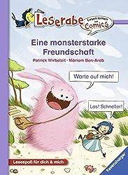 Eine monsterstarke Freundschaft (Lesen lernen mit Comics)