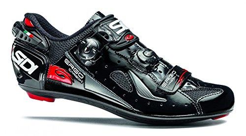 SIDI Ergo 4Mega de Carbono Carretera Zapatos, Negro