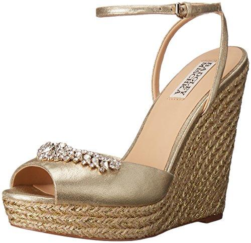 badgley-mischka-annabel-damen-us-10-gold-keilabsatze-sandale