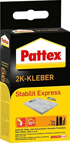 Pattex 1152570 Stabilit Express 70g Harz, 10g Härter-Pulver