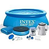 7en 1Kit piscine Easy Set Piscine 305x 76cm avec accessoires Intex 28120