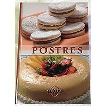 1: Postres/ Desserts