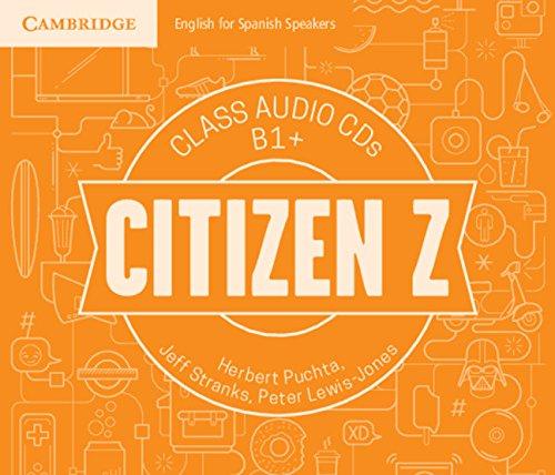 Citizen Z B1+ Class Audio CDs (4) - 9788490368909