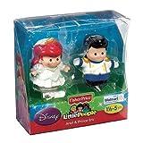 Fisher Price Little People Spielfiguren Y1577 - Arielle und Prinz Eric