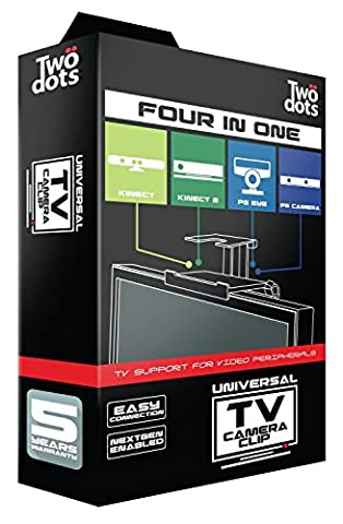 PS4 - Universelle TV-Halterung Four in One (für PS3 & PS4 Kamera, Xbox 360 & Xbox One Kinect) (Kinect Camera)