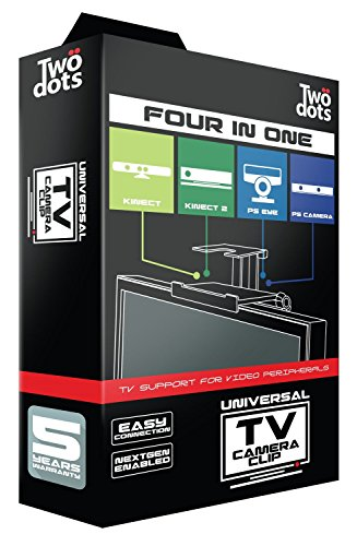 PS4 - Universelle TV-Halterung Four in One (für PS3 & PS4 Kamera, Xbox 360 & Xbox One Kinect) (Kinect, Wii-mount)
