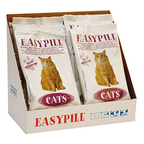 El pack contiene 4 sobres de Easypill Cat para gatos.   Easypill Gato es un producto profesional desarrollado inicialmente por un veterinario y para ayudar a los veterinarios a administrar gatos y pastillas. Ahora los veterinarios recomiendan regular...