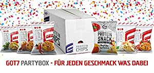 Neu GOT7 High Protein Chips Snack 40% Protein Fitnesssnack - Ideal Zur Diät...