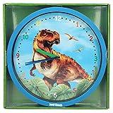 Depesche 6487 - Wanduhr Dino World, ca. 26 cm