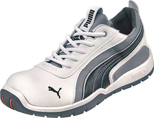 Puma PU65044 - Monaco bassa - scarpe di sicurezza (taglia 44) bianco