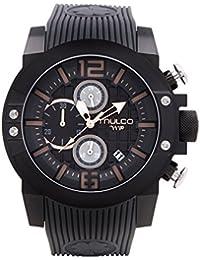 c4a74b6e3a9a Reloj Mulco MW5-3704-215 Hombre Negro Silicona Chronográfo