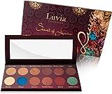 Luvia Lidschatten-Palette - Secret of Amira Make-Up - Inkl. 12 traumhaften Farben des Orients - Limitierte Geschenkbox zu Weihnachten