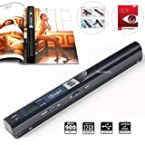 Microware iScan Handheld Portable Wireless Digital 900dpi Scanner Document Book Photo A4 Handyscanner