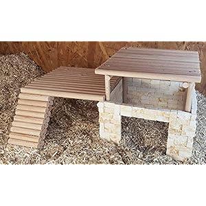 Haus/Versteck Orient für Hamster, Mäuse und Degus, 31x24x16,5 cm