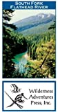 South Fork Flathead River 11x17 Fly Fishing Map by Wilderness Adventures Press